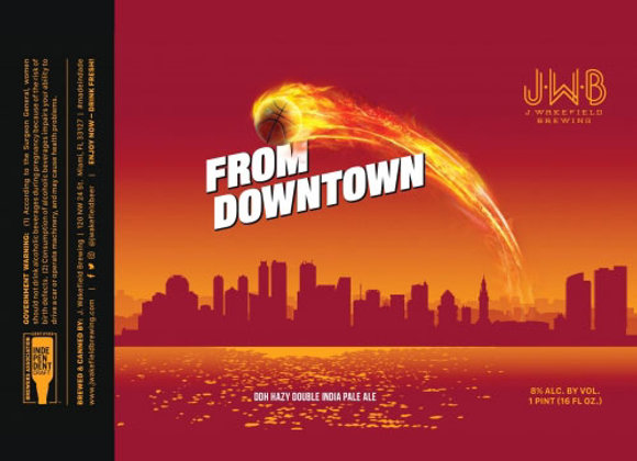 J. Wakefield From Downtown (Hazy Double IPA - 4 Pack x 16 oz.)