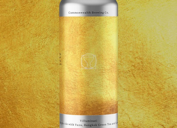 Commonwealth Villuminati  (Fruited Sour Ale - 4 Pack x 16 oz.) (MD)