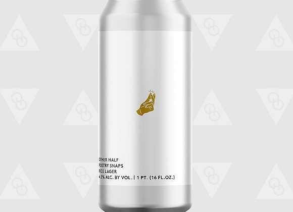 Other Half Poetry Snaps (Pale Lager - 4 Pack x 16 oz.) (MD)