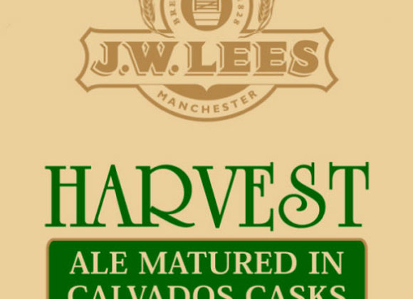 J.W. Lees Harvest Ale: Calvados 2015 (English Barleywine - Single x 8.5 oz.)
