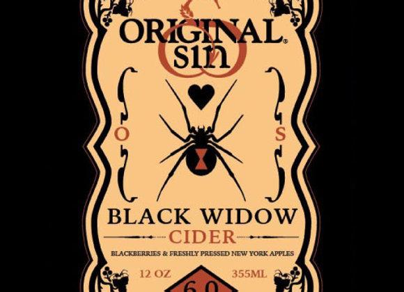 Original Sin Black Widow (Cider - 6 Pack x 12 oz.)