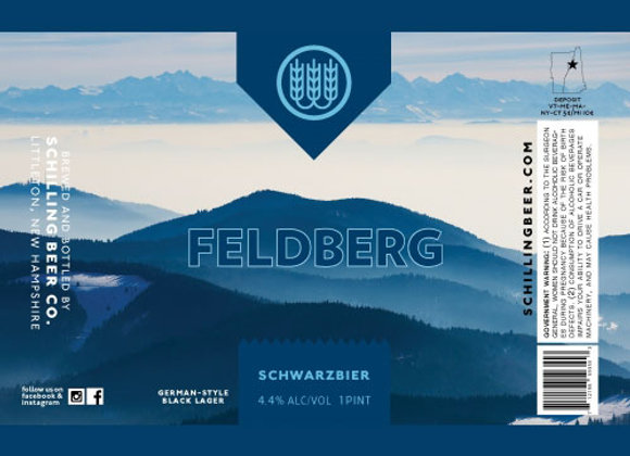Schilling Feldberg (Schwarzbier - 4 Pack x 16 oz.)