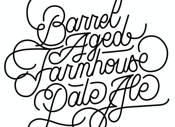 Oxbow Barrel-Aged Farmhouse Pale Ale (Mixed Fermentation Ale - 16.9 oz)(MD)