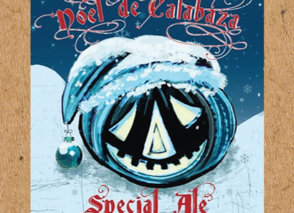 Jolly Pumpkin Noel De Calabaza 2014 (Belgian Strong Dark Ale - 25.4 oz.)