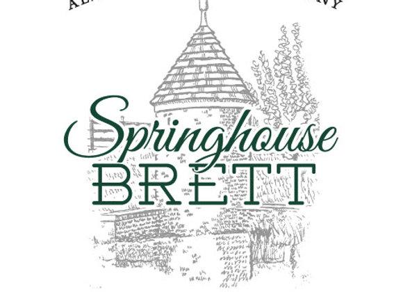 Alewerks Springhouse Brett 2017 (Mixed Fermentation Ale - Single x 25.4 oz.)