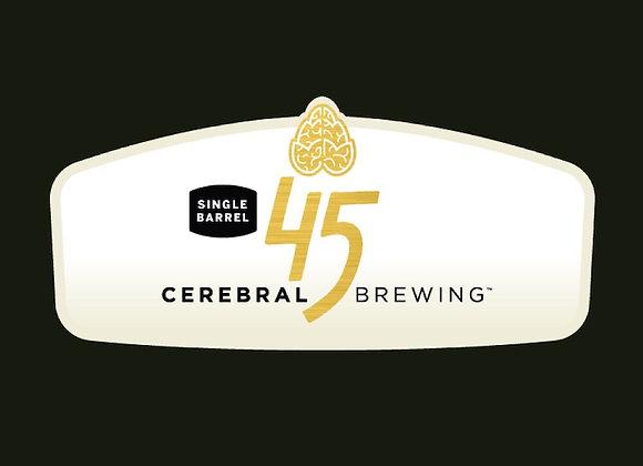 Cerebral Single Barrel: 45 (2019) (Mixed Fermentation Ale - Single x 16.9 oz.)