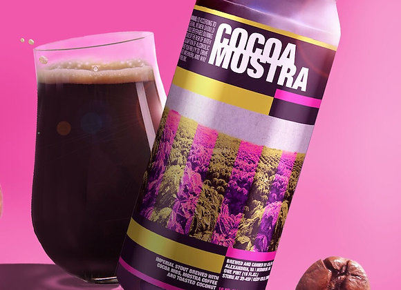 Aslin Cocoa Mostra (Imperial Stout - Single x 16 oz.)