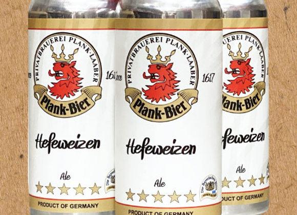 Plank Hefeweizen (Hefeweizen - 4 Pack x 16 oz.)