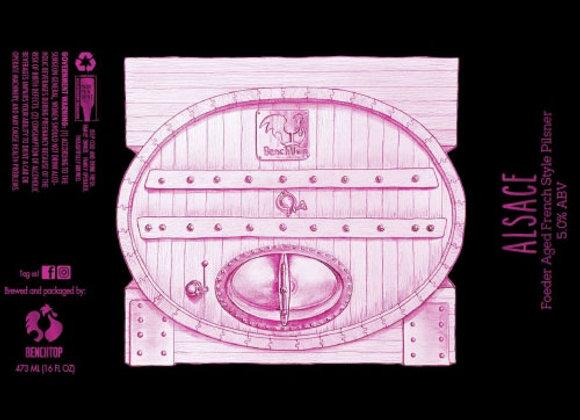 Benchtop Alsace (Pilsner - 4 Pack x 16 oz.) (MD)