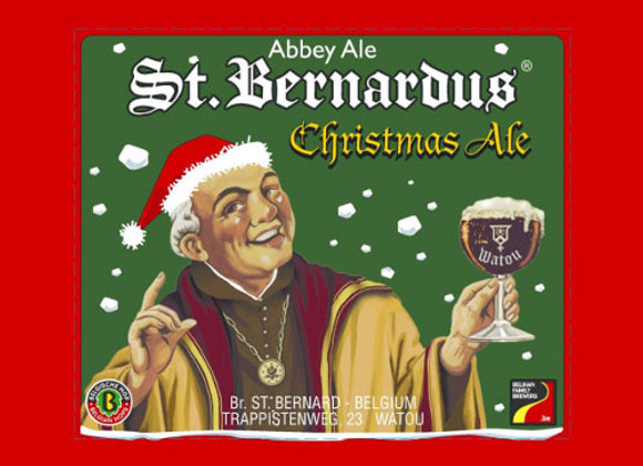 St. Bernardus Christmas Ale (Belgian Strong Dark Ale - 32 oz. Growler)