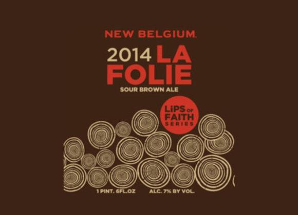 New Belgium La Folie 2014 (Flanders Oud Bruin - Single x 22 oz.)