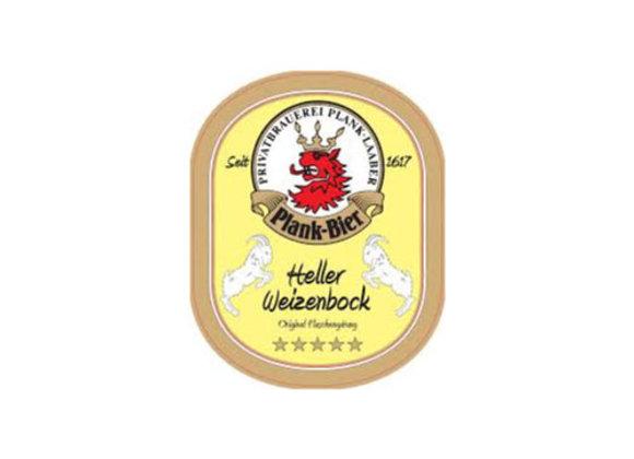 Plank Heller Weizenbock (Weizenbock - 4 Pack x 16 oz.)