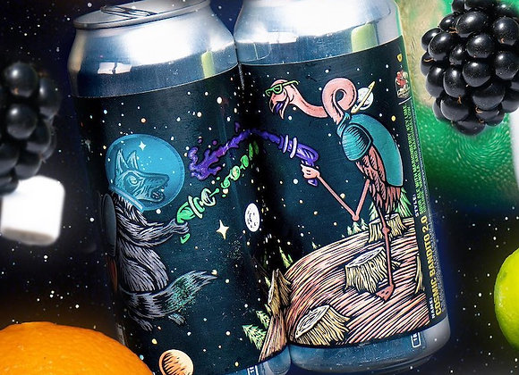 Tripping Animals Cosmic Bandito 2.0 (Fruited Sour Ale - 4 Pack x 16 oz.)