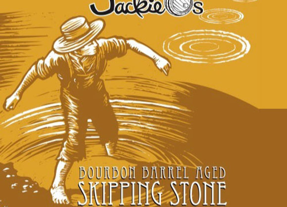 Jackie O's Bourbon Barrel-Aged Skipping Stone (Quadrupel - Single x 12.7 oz.)