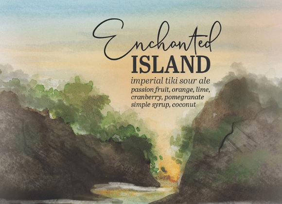 Humble Forager Enchanted Island: V2 (Fruited Sour Ale - 4 Pack x 16 oz.)