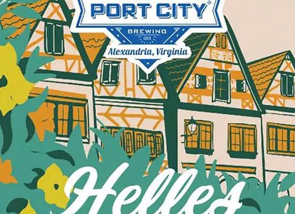 Port City Helles (Helles Lager - 6 Pack x 12 oz.)