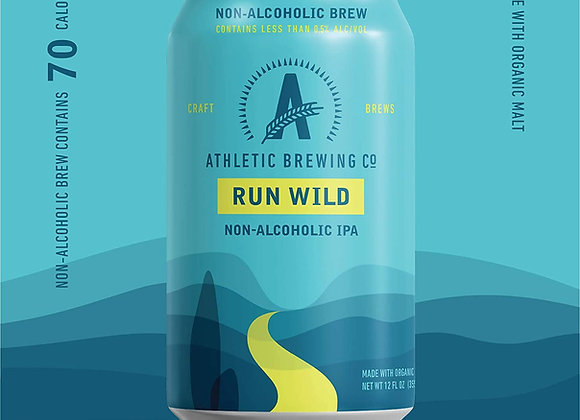 Athletic Run Wild (Non-Alcoholic IPA - 6 Pack x 12 oz.)