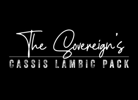 The Sovereign's Cassis Lambic Pack (2 x 25.4 oz. Bottles) *LIMIT 1*