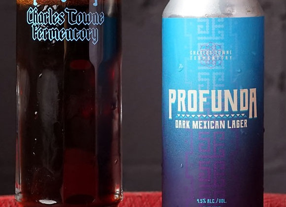 Charles Towne Profunda (Vienna Lager - 4 pack x 16 oz.)