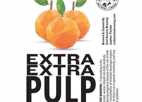 Civil Society Extra Extra Pulp (Hazy Triple IPA - 4 Pack x 16 oz.)