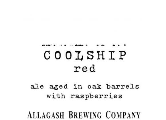 Allagash Coolship Red 2020 (Wild Ale - Single x 12.7 oz.) (MD)