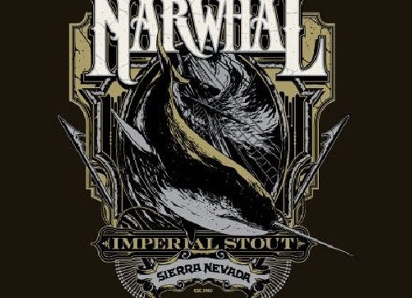 Sierra Nevada Barrel-Aged Narwhal (Imperial Stout - Single x 16 oz.) (MD)