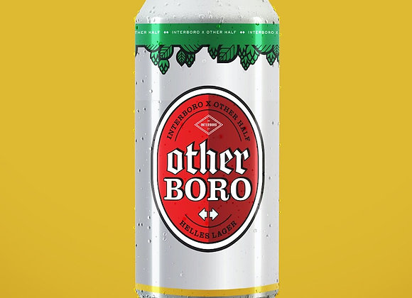 Interboro OtherBoro (Helles Lager - 4 Pack x 16 oz.)