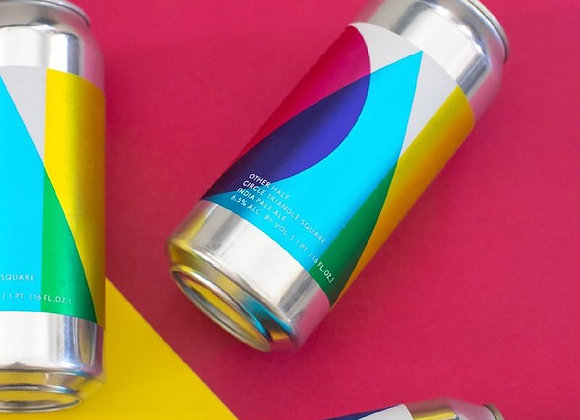 Other Half Circle Triangle Square (Hazy IPA - 4 Pack x 16 oz.) (MD)
