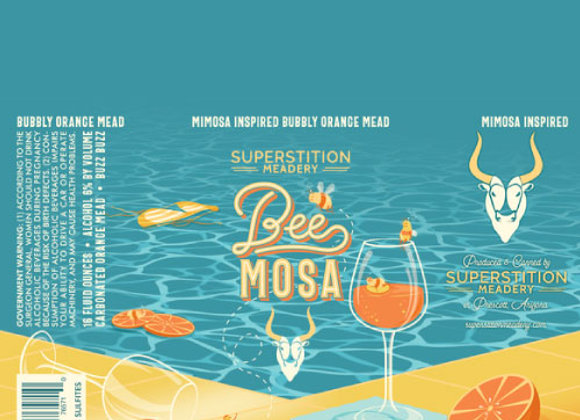 Superstition BeeMosa (Mead - 4 Pack x 16 oz.)