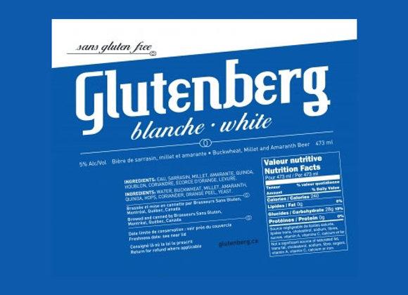 Glutenberg White (Gluten Free Witbier - 4 Pack x 16 oz.)