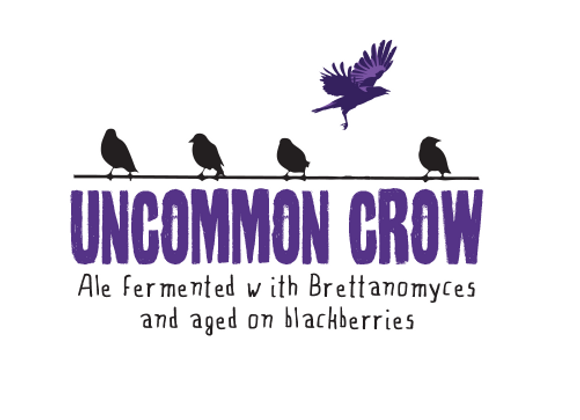 Allagash Uncommon Crow (Flanders Oud Bruin - Single x 12.7 oz.) (MD)
