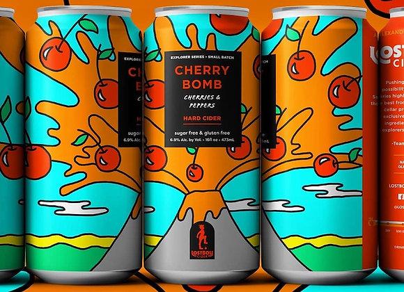 Lost Boy Cherry Bomb (Cider - 4 Pack x 16 oz.)