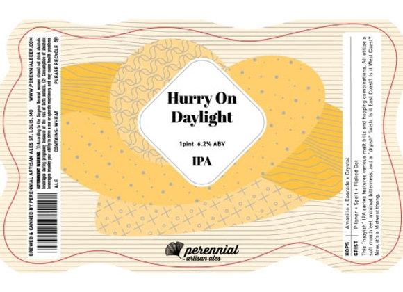 Perennial Hurry On Daylight (Hazy IPA - 4 Pack x 16 oz.)