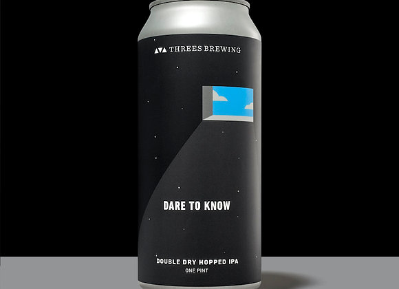 Threes Dare To Know (Hazy IPA - 4 Pack x 16 oz.)