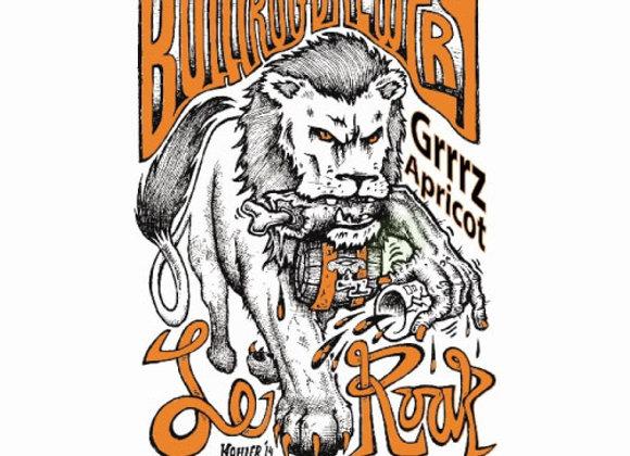 Bullfrog Le Roar Grrrz 2015: Apricot (Mixed Fermentation Ale - 25.4 oz.)