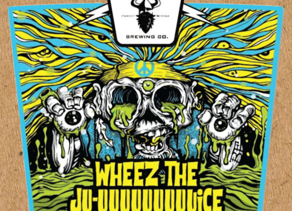 Drekker DDH Wheez The Ju-uuuuuuuuuice (Hazy IPA - 4 Pack x 16 oz.)