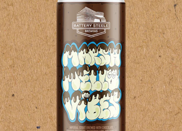 Battery Steele Marsh Mello Vibes (Imperial Stout - 4 Pack x 16 oz.)