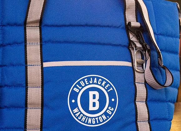 Circle Logo 24-Can Cooler Bag (Blue)