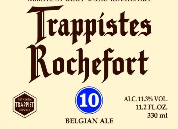 Rochefort Trappistes 10 (Quadrupel - Single x 11.2 oz.)