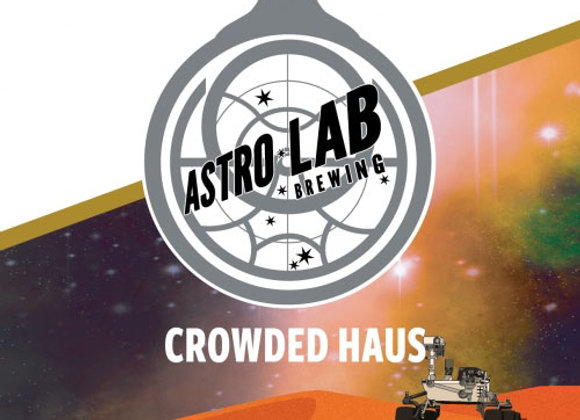Astro Lab Crowded Haus (Pilsner - 4 Pack x 16 oz.) (MD)
