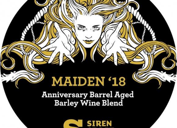 Siren Maiden 2015 (Barleywine - Single x 12.7 oz.) (MD)