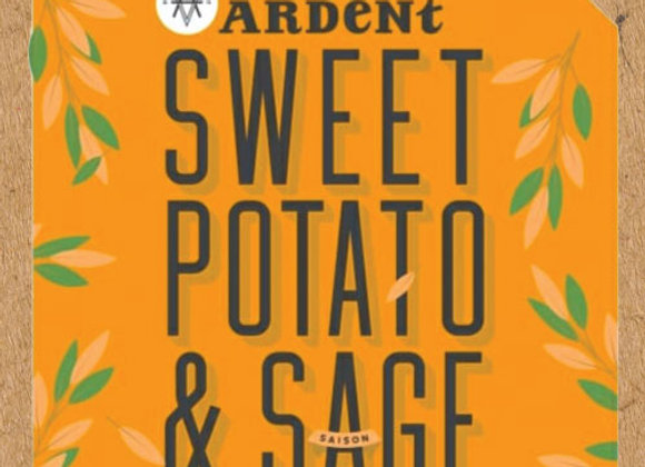 Ardent Sweet Potato & Sage (Saison - 4 Pack x 16 oz.)