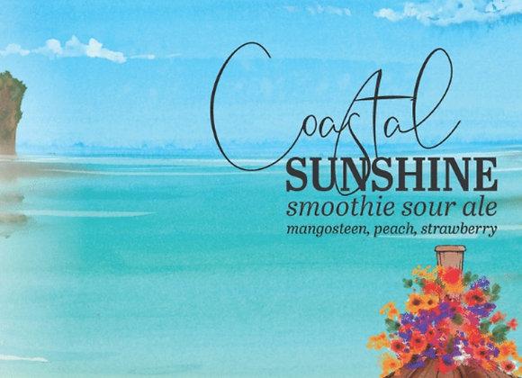 Humble Forager Coastal Sunshine: V14 (Fruited Sour Ale - 4 Pack x 16 oz.)