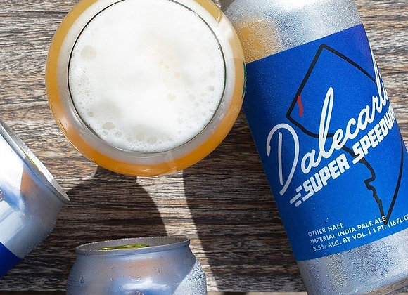 Other Half Dalecarlia Super Speedway (Hazy Double IPA - 4 Pack x 16 oz.) (MD)