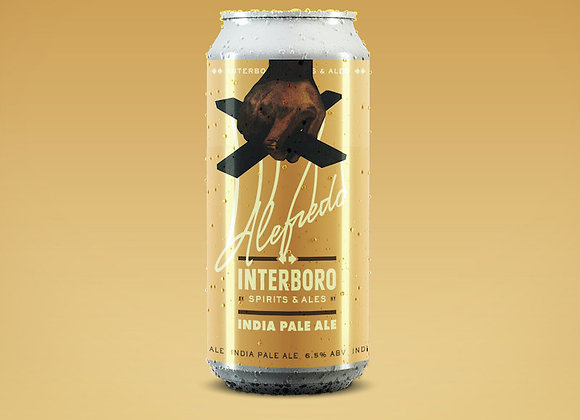 Interboro Alefredo (Hazy IPA - 4 Pack x 16 oz.)