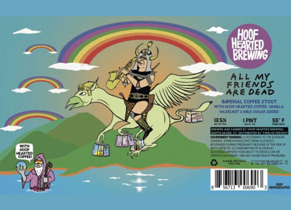 Hoof Hearted All My Friends Are Dead (Imperial Sweet Stout - 4 Pack x 16 oz.)
