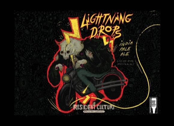 Resident Culture Lightning Drops (Hazy IPA - 32 oz. Growler)