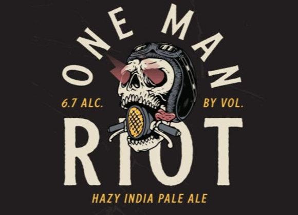 Mason One Man Riot (Hazy IPA - 4 Pack x 16 oz.)