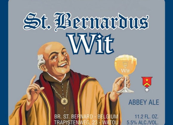 St. Bernardus Wit (Witbier - 32 oz. Growler) (MD)
