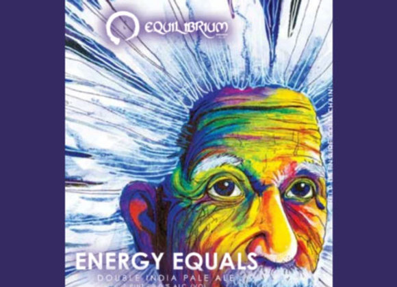 Equilibrium Energy Equals (Hazy Double IPA - 4 Pack x 16 oz.)